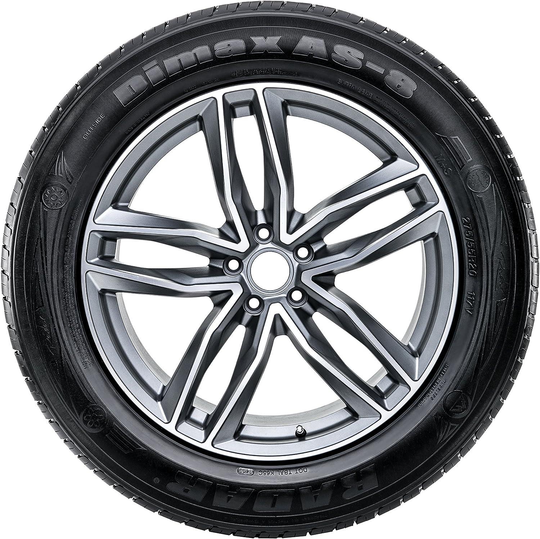 Radar Tires Dimax AS-8 All-Season Radial Tire 295//25ZR22 97Y