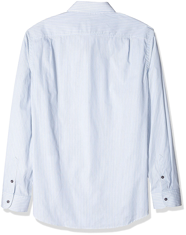 620948ca33b Amazon.com  Ivory Skulls   Clover Men s Ivory Button Down Shirt ...