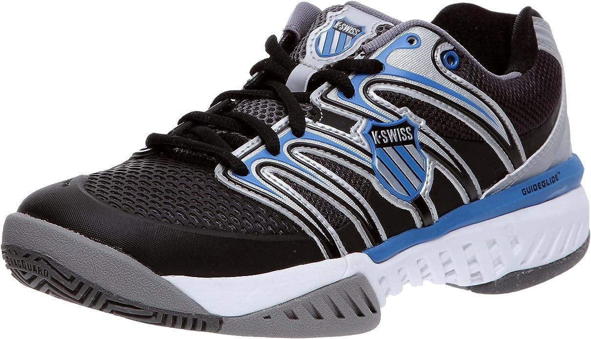 K-Swiss Bigshot-M - Zapatillas de Tenis para Hombre, Color Gris, Talla 44.5: Amazon.es: Zapatos y complementos
