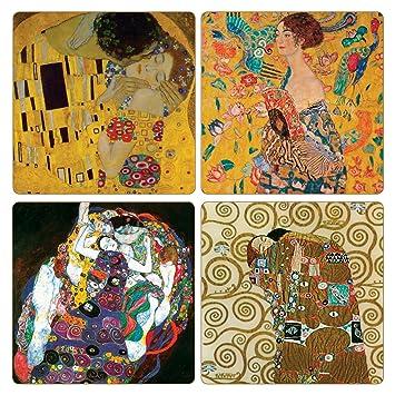 "Goebel Artis Orbis Gustav /"" Klimt Untersetzer /"" 6er Set"