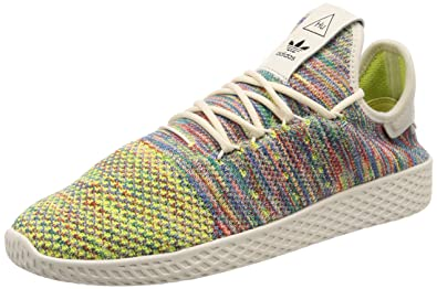 adidas Originals Herren Sneaker Pharell Williams Tennis Hu Primeknit Weiss (10) 42