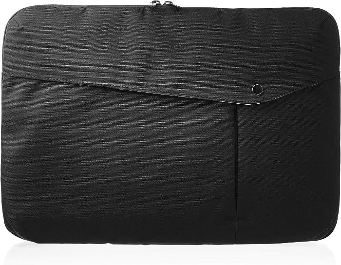 AmazonBasics Laptop Sleeve - 15-Inch, Black