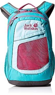 huge discount 42718 c9618 Amazon.com : Jack Wolfskin Kid's Grivla Pack Rucksack, Blue ...