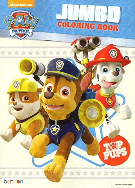 - Amazon.com: Paw Patrol Coloring And Activity Book - Top Pups: Toys & Games
