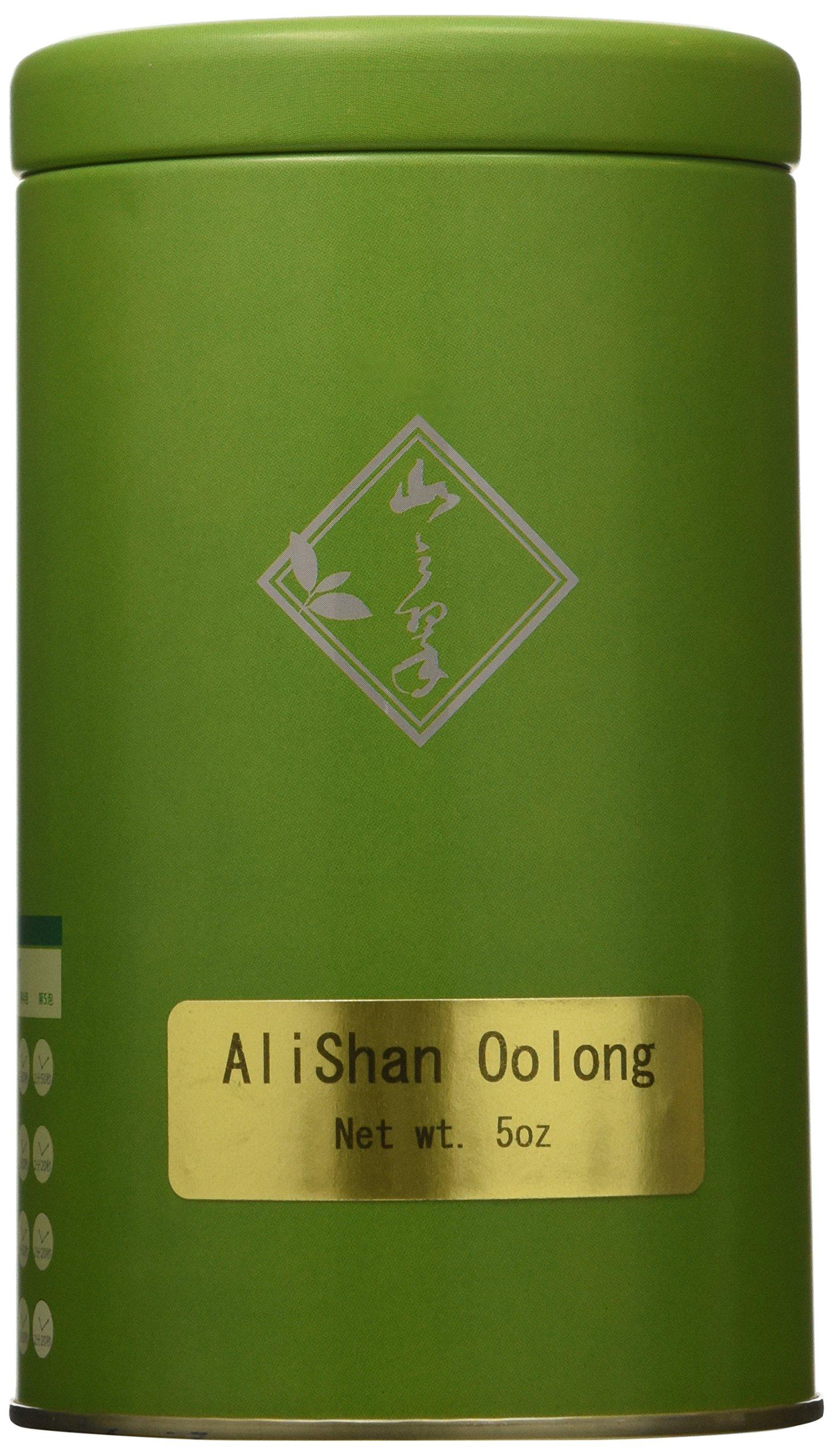 Mountain Tea Company - 5oz Alishan Oolong, Loose-leaf Green Oolong Tea by Mountain Tea Company