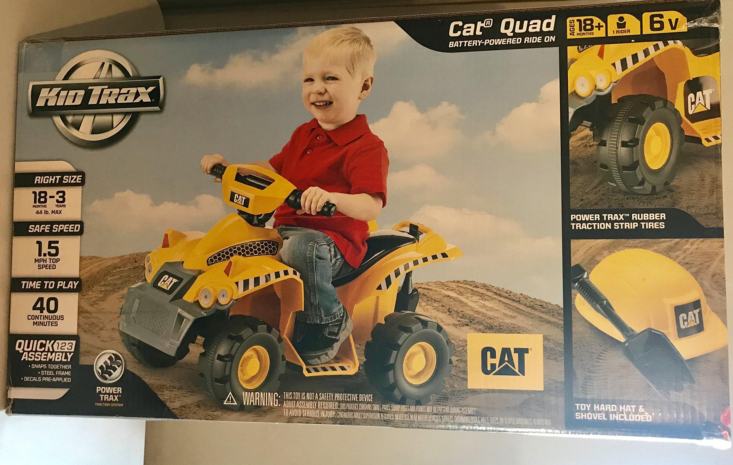 Pacific Kid Trax CAT 6V Quad Ride On