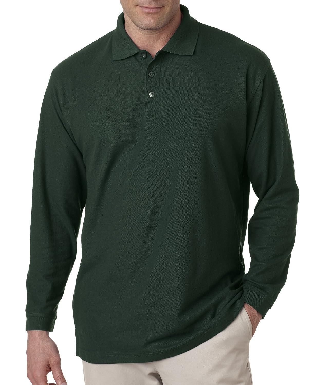 Gioberti Men's Striped Short Sleeve Polo Shirt