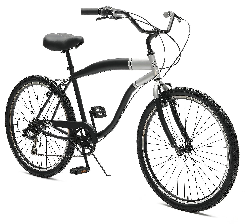 Red Black HandleBar Grips Beach Cruiser Bicycles bike IRON CROSS
