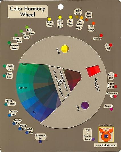 Amazon Com Color Harmony Wheel