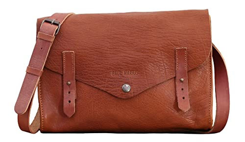 Image Unavailable. Image not available for. Colour  L INDISPENSABLE Light  Brown Shoulder bag Vintage Style PAUL MARIUS a003c40832eb3