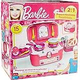 Barbie Mi Primera Cocina Multicolor Portable en Maleta 2 en 1 Bildo