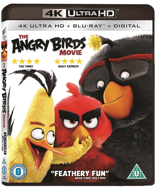 Amazon Com The Angry Birds Movie 4k Ultra Hd Blu Ray Region Free Jason Sudeikis Josh Gad Maya Rudolph Movies Tv