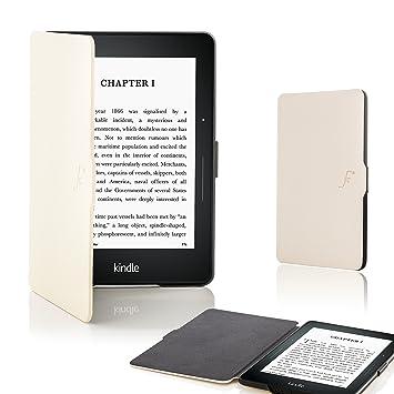 Forefront Cases® Kindle Voyage Funda Carcasa Caso Smart Case Cover – Ultra Delgado Ligera y Protección Completa del Dispositivo con Función Auto ...