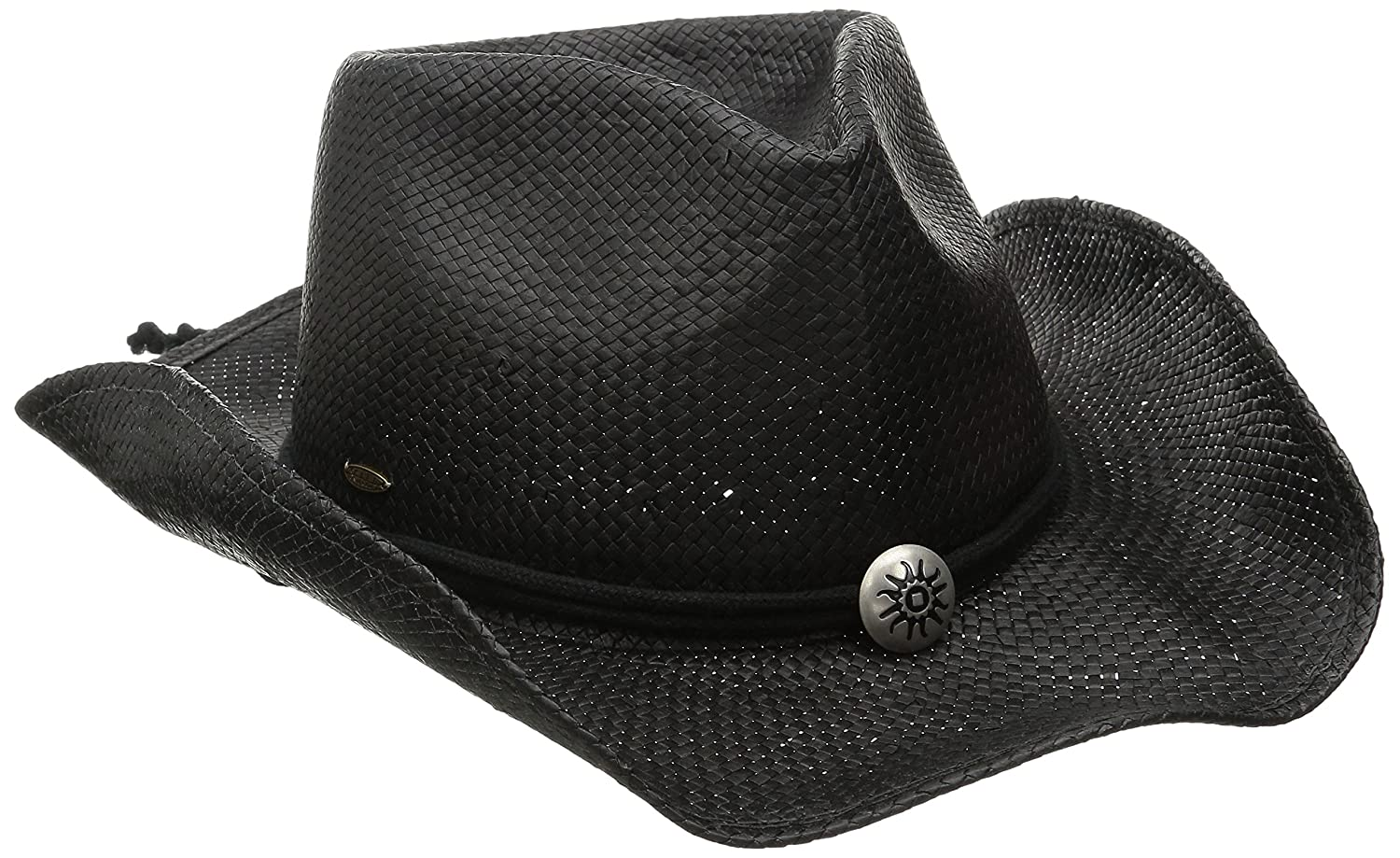 03873ce1f Dorfman Pacific Women's Shapeable Toyo Western Hat
