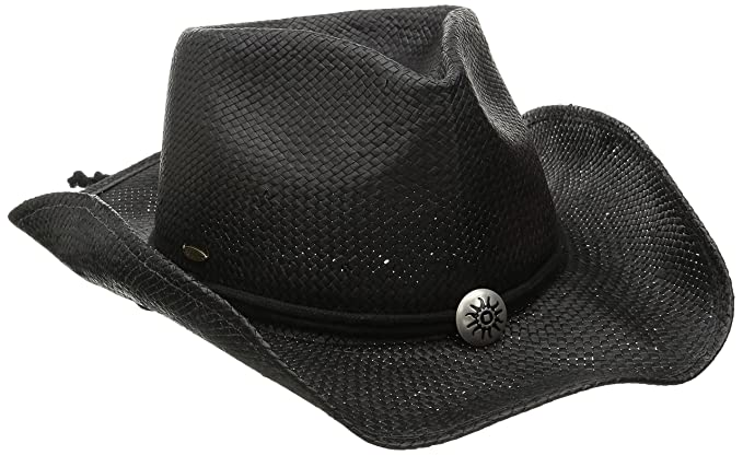 e4b3fc05d8a SCALA Women s Shapeable Toyo Western Hat at Amazon Men s Clothing ...