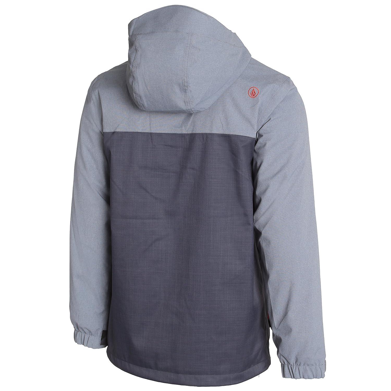 Volcom Commercial - Chaqueta de de de esquí para hombre  color carbón XS a51781