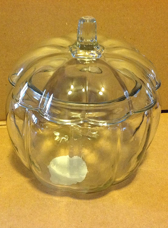 Anchor Hocking Glass 2 Liter Pumpkin Candy Jar