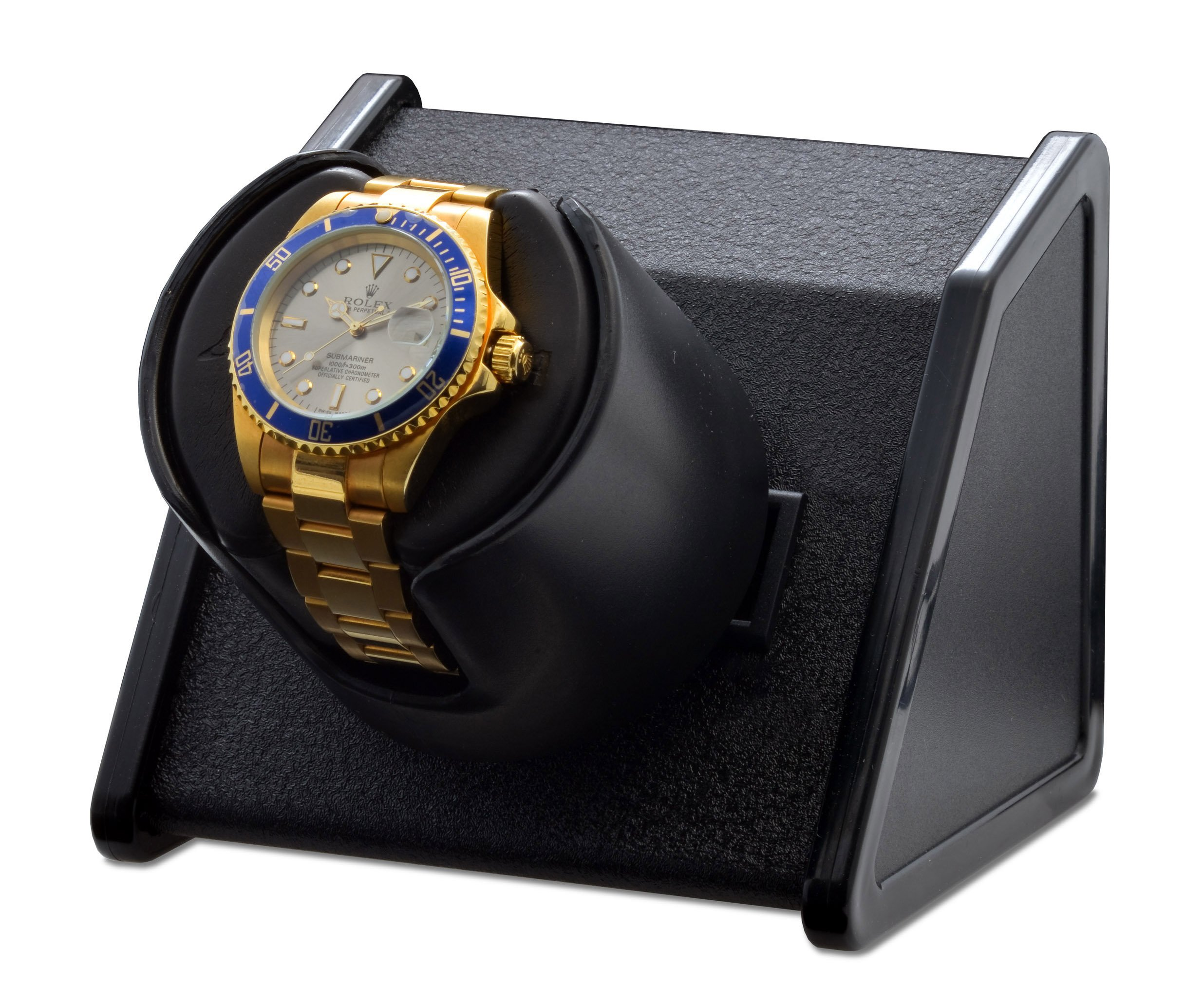 Orbita Sparta Bold Black Single Watchwinder 1 by Orbita