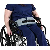 Patient Aid Padded Wheelchair Seat Belt - Adjustable Medical Safety Straps Secure Elderly, Disabled, Immobile to Prevent Slid