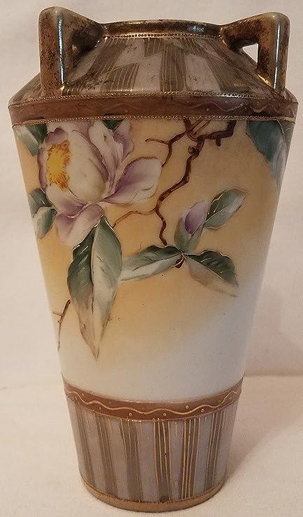 Amazon Vintage Hand Painted Nippon Vase Everything Else