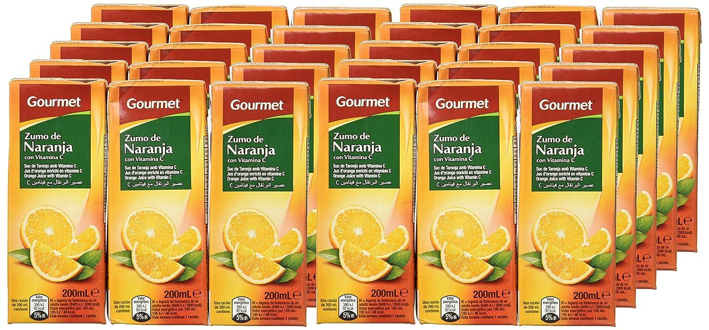 Gourmet - Zumo de naranja - 3 x 200 ml - [Pack de 10]: Amazon.es: Alimentación y bebidas
