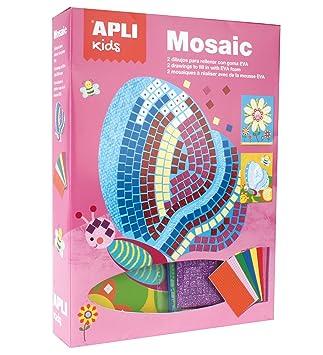 APLI Kids - Mosaico de goma EVA Primavera
