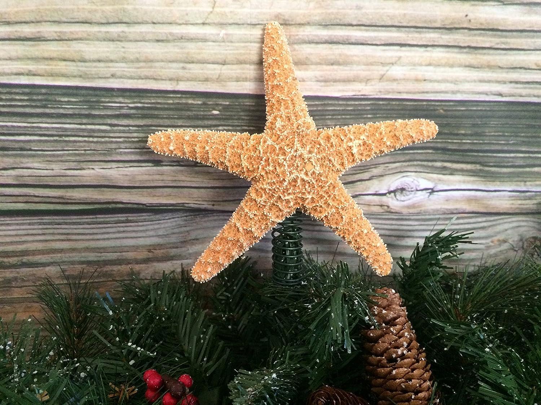 Amazon.com: Sugar Starfish Christmas Tree Topper: Handmade