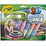 Crayola - Tizas de exterior, efecto 3D (51-3505)