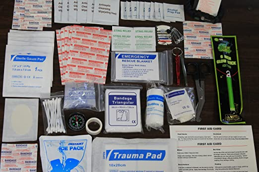 Perfect First Aid Kit: Best for Home-Office-Auto-Sports-Outdoors-Mini First Aid Kit...