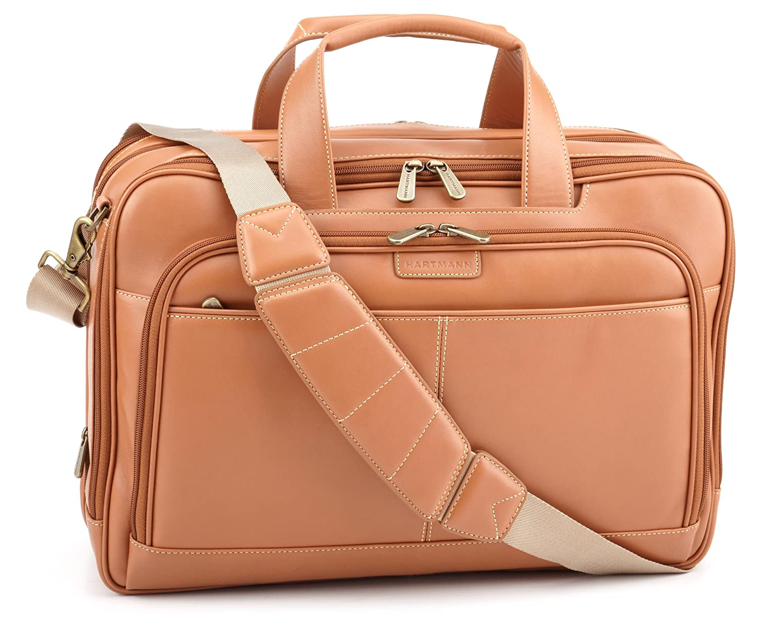 f6ea34a26621 Amazon.com | Hartmann Luggage Belting Leather Double Compartment ...