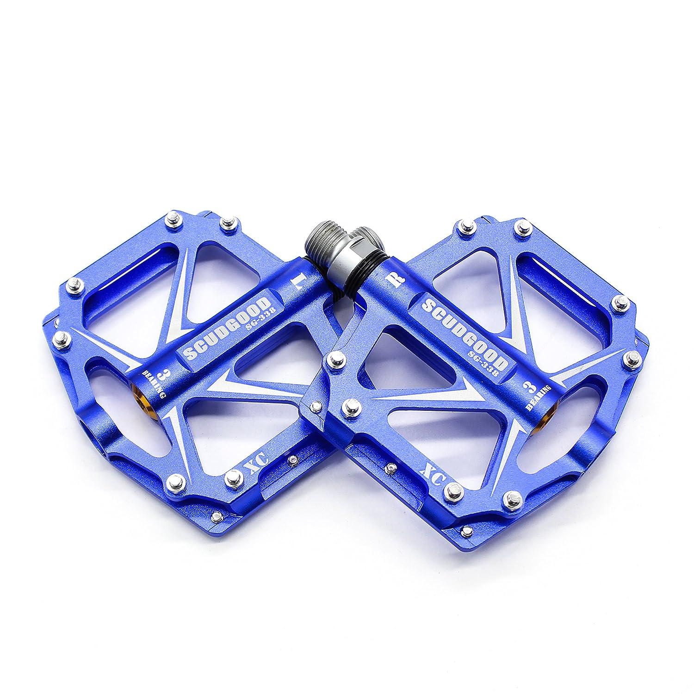Wily Pedales antideslizantes ultraligeros de aluminio para ...
