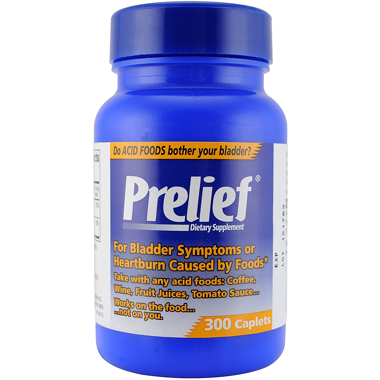 Prelief for interstitial cystitis