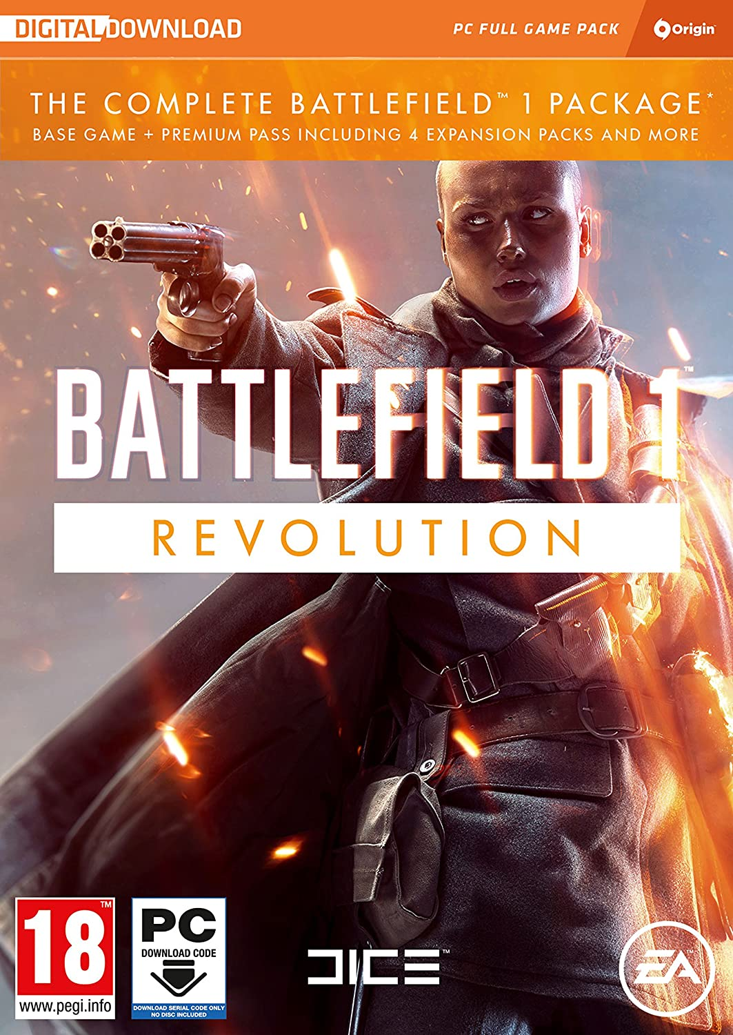 Battlefield 1 Revolution (PC DVD) [Importación inglesa]: Amazon.es: Videojuegos