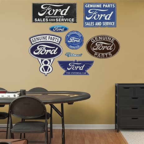 Fathead Wall Decal, U0026quot;Ford Garage ...