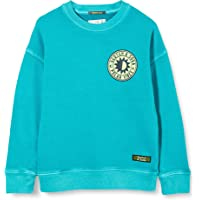 Scotch & Soda Garment Dyed Crewneck Sweat Wth Chest Artwork suéter para Niños