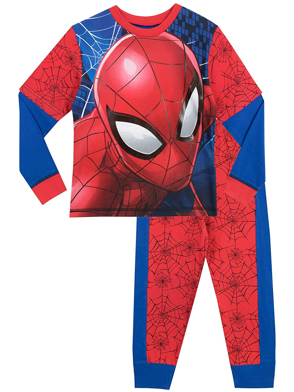 Spiderman - Pijama dos piezas - Manga Larga - para niño: Amazon.es: Ropa y accesorios