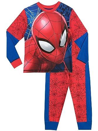 ecbfd992d2b2f Spiderman - Ensemble De Pyjamas - Spider-man - Garçon - Multicolore -  Taille 2
