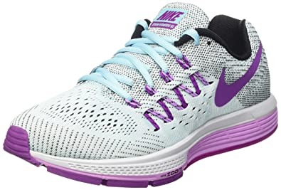 salida siempre popular mejor amado Nike Women's Air Zoom Vomero 10 Grey and Purple Running ...