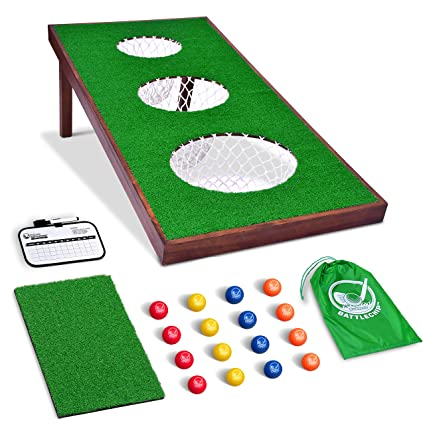 Amazon.com: Juego de golf GoSports BattleChip Pro incluye ...
