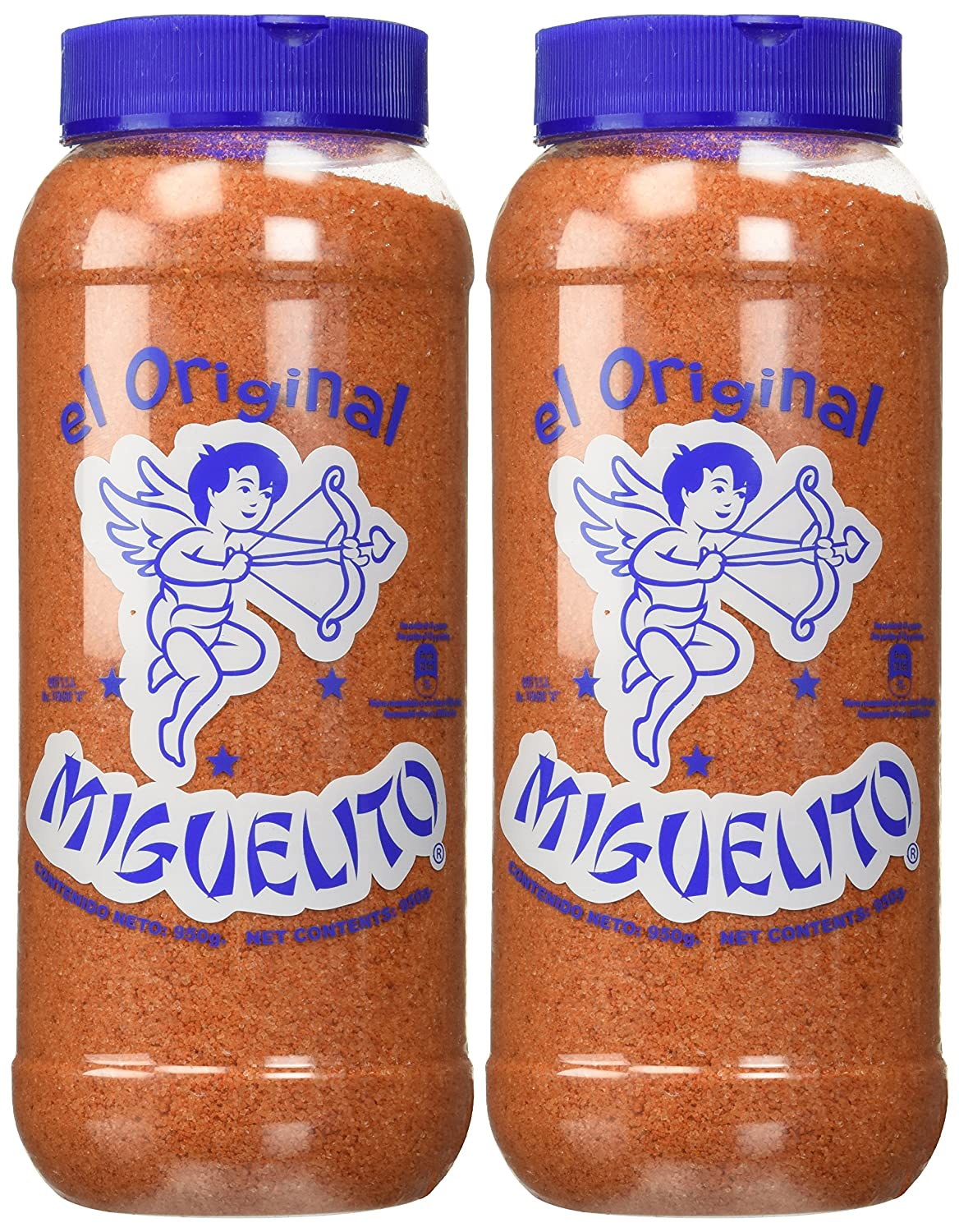 Amazon.com : Miguelito El Original Chilito En Polvo Mexican Candy Chili Powder 2 Bottles 950g Each : Sour Flavored Candies : Grocery & Gourmet Food