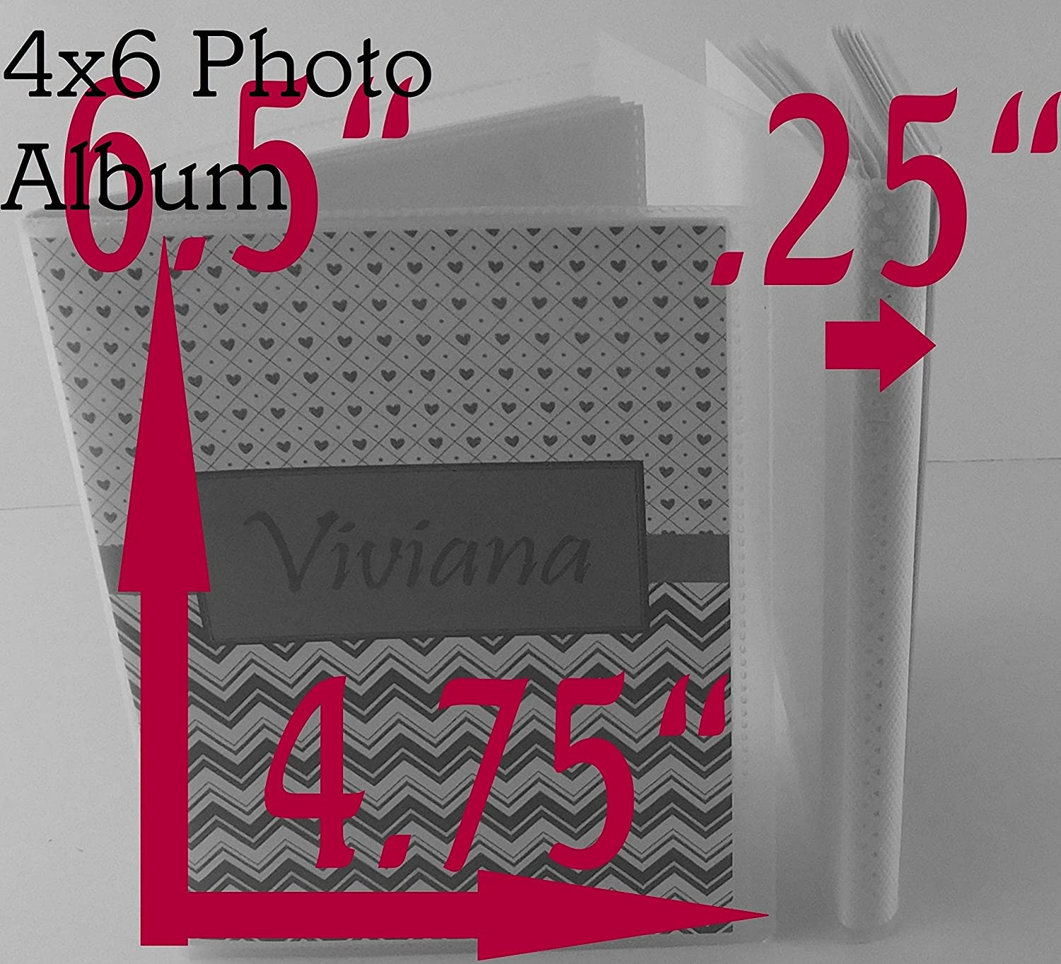 Photo Album IA#871 Little Miss Onederful Birthday Party Baby Girl Personalized Gift 4x6 or 5x7 Pictures First Year