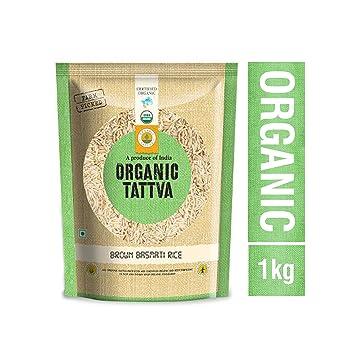 Organic Tattva Brown Basmati Rice, 1kg