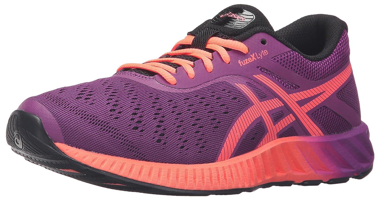 ASICS Women's fuzeX Lyte Running Shoe B017USPJ5U 11.5 B(M) US Phlox/Flash Coral/Black
