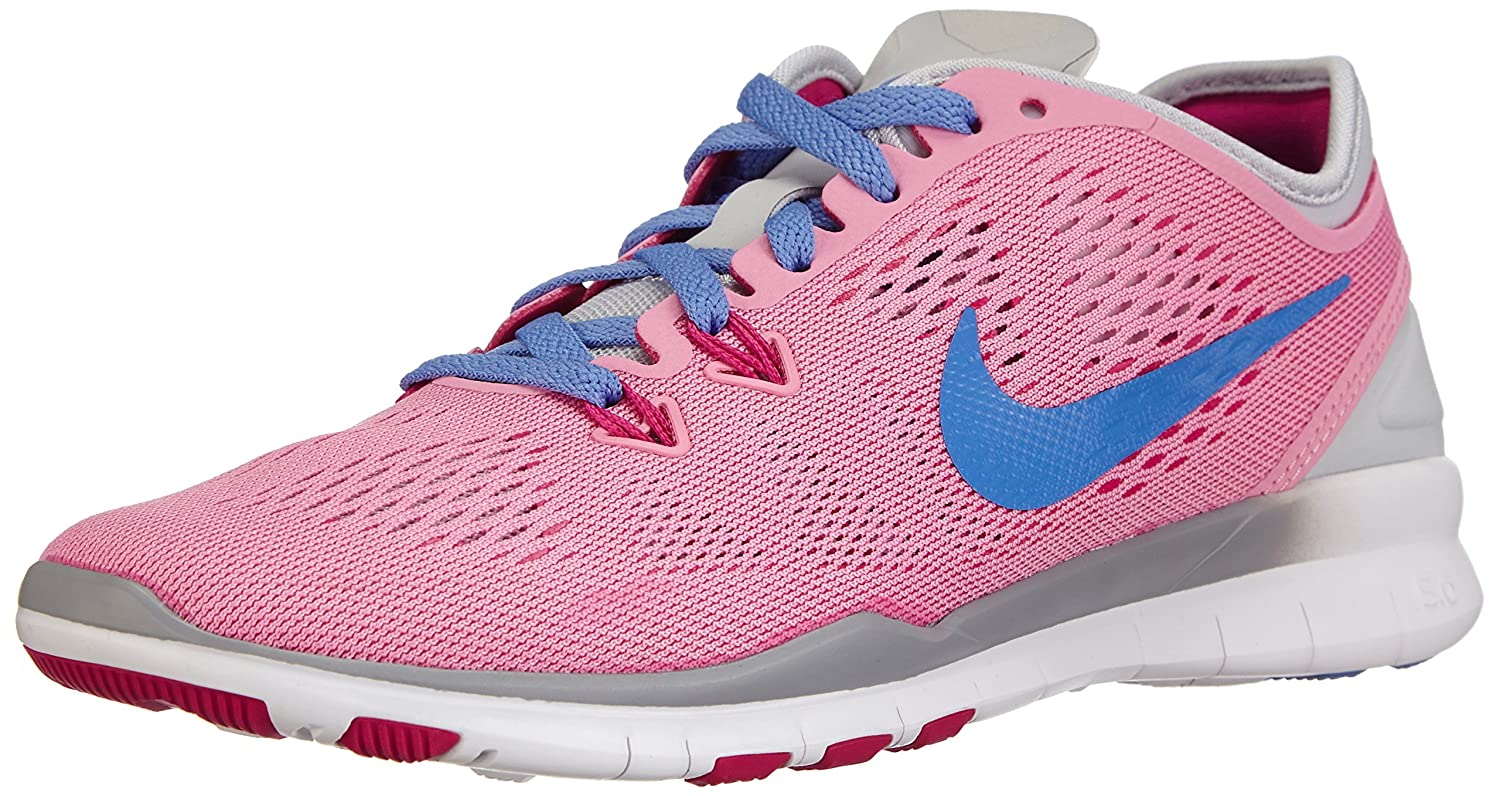 huge discount f2587 330a8 NIKE Women's Free 5.0 Tr Fit 5 Rose/Polar/Pr Platinum/Frbrry Training Shoe  6.5 Women US