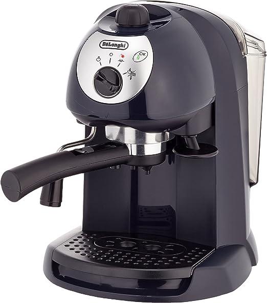 DeLonghi Pumped Espresso/Cappuccino maker, Negro - Máquina de café ...