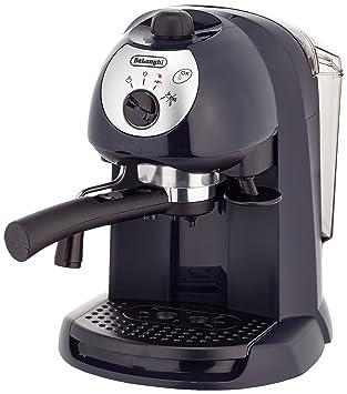 DeLonghi Pumped Espresso/Cappuccino maker, Negro - Máquina de café