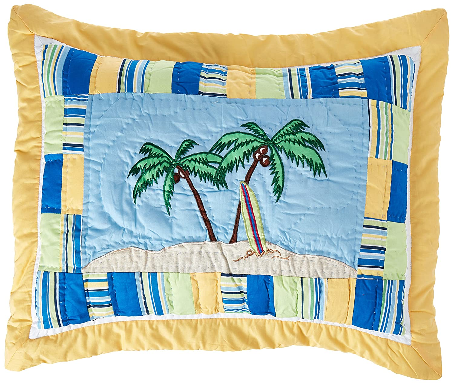C & F Enterprises Surfers Bay Collection Sham