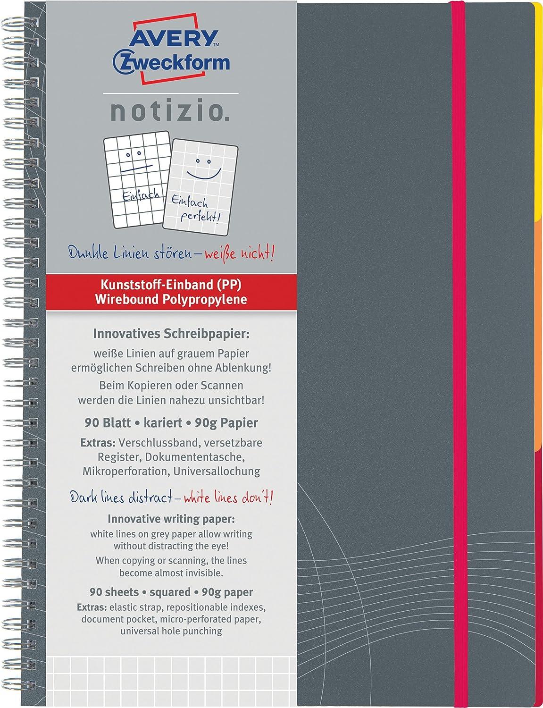 gef/üttertes A5-Notizbuchjournal mit Premium-Papier College-Tagebuch weiche Drahtbindung 2 Packungen A5-Notizbuch//Notizblock 21 x 15,5 cm Eono von