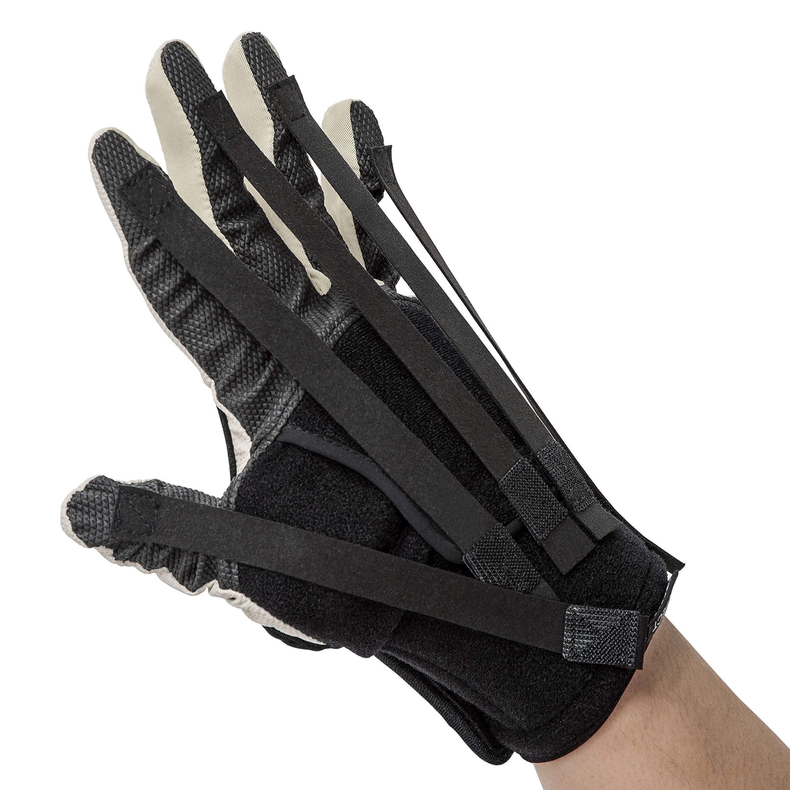 NEOFECT Extender - Minimizes Spasticity, Maintains Stretch & Functional Grasp, Prevents Stiffness for Stroke, TBI, Increased Muscle Tone, Hand Glove (Large, Left) by NEOFECT