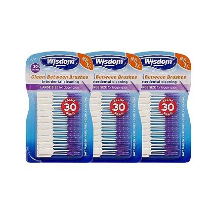 Wisdom - Cepillo de dientes cepillos interdentales, grandes ...